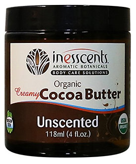 Inesscents Organic Creamy Cocoa Butter (Unscented)