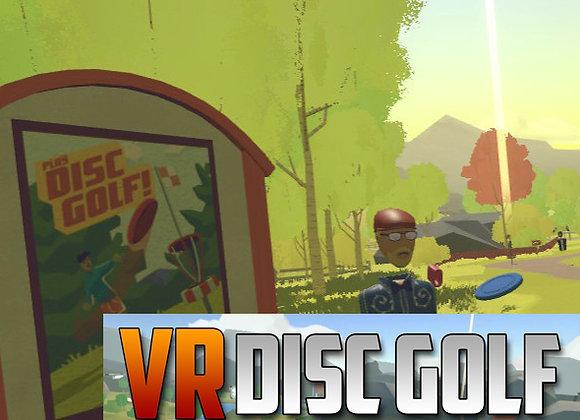 VR DISC GOLF