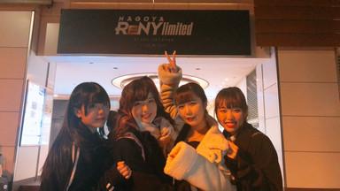 ReNY limited Nagoya 出演
