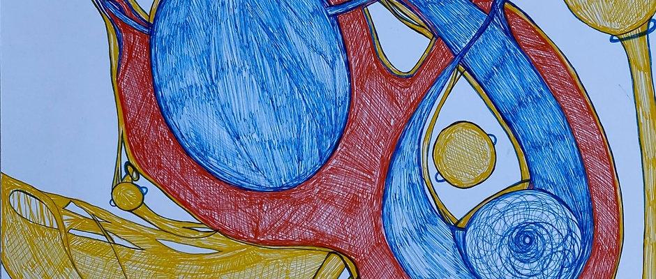 Арт терапия индивидуальных вибраций через Диаграммы Энергий