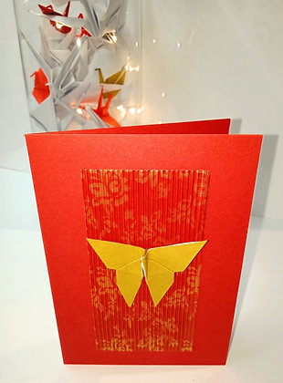 Christmas Card Bundle - Butterfly themed bundle of 10