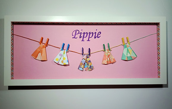 Little Dresses Name Frame (no quote)