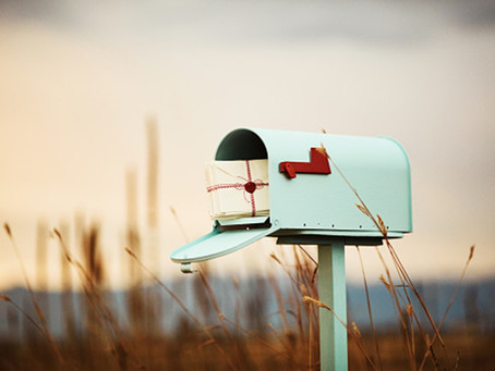 How your snail mail can save a life.