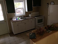 Spacious Main Cottage, lots of counter space, fridge, stove, sink