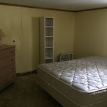 Spacious Main Cottage, lower level bedroom, double bed, private, cozy, dressers and closets