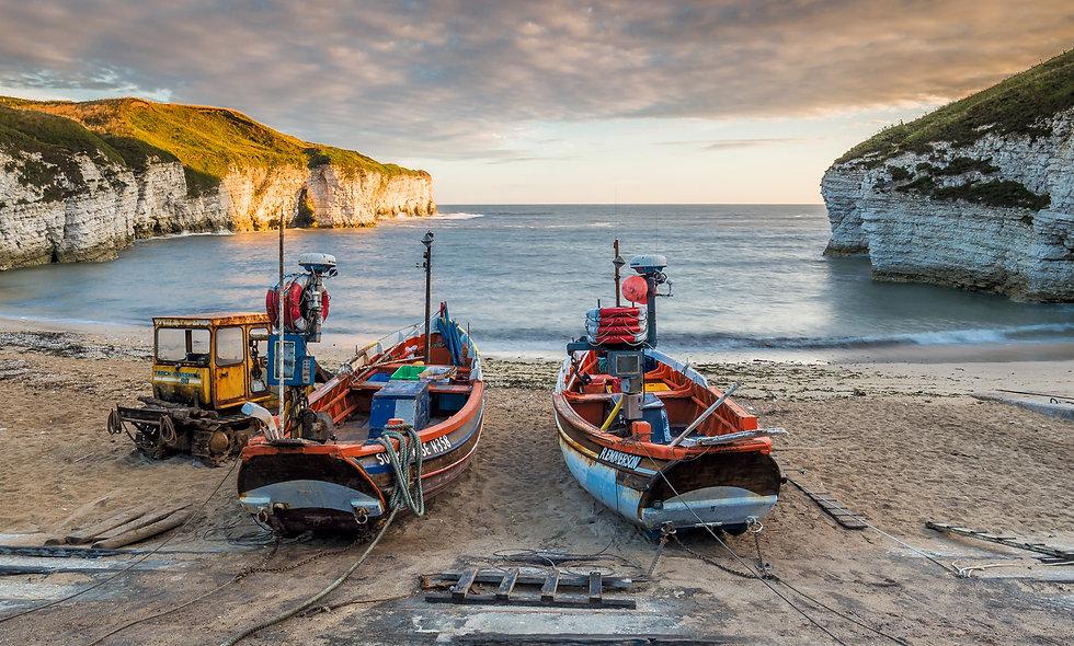 Flamborough boats
