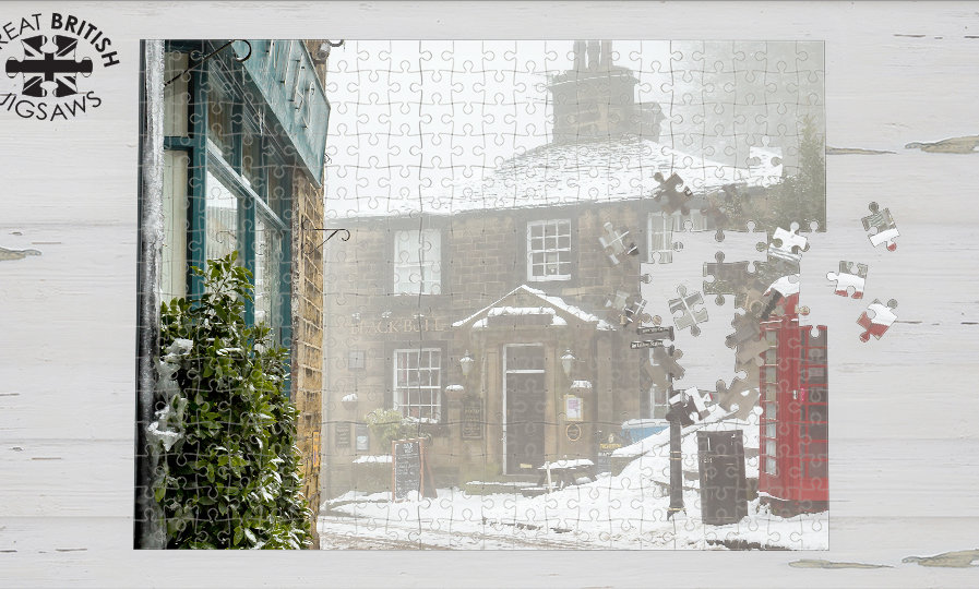 JIGSAW - HAWORTH IN THE SNOW (pre order)