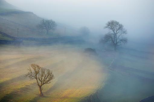 Malham in the mist