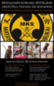 Shinbukai Seminar Flyer - bennetts Karat
