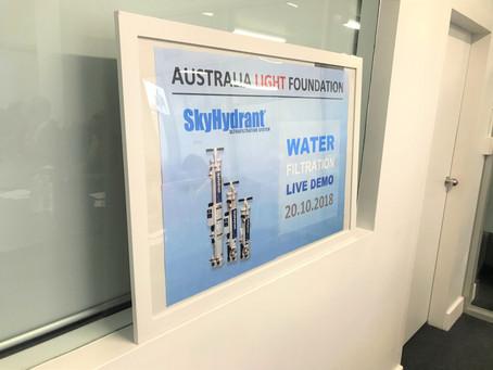 ALF's Water Filtration Live Demonstration