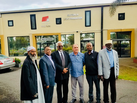 Important guests from Somaliland