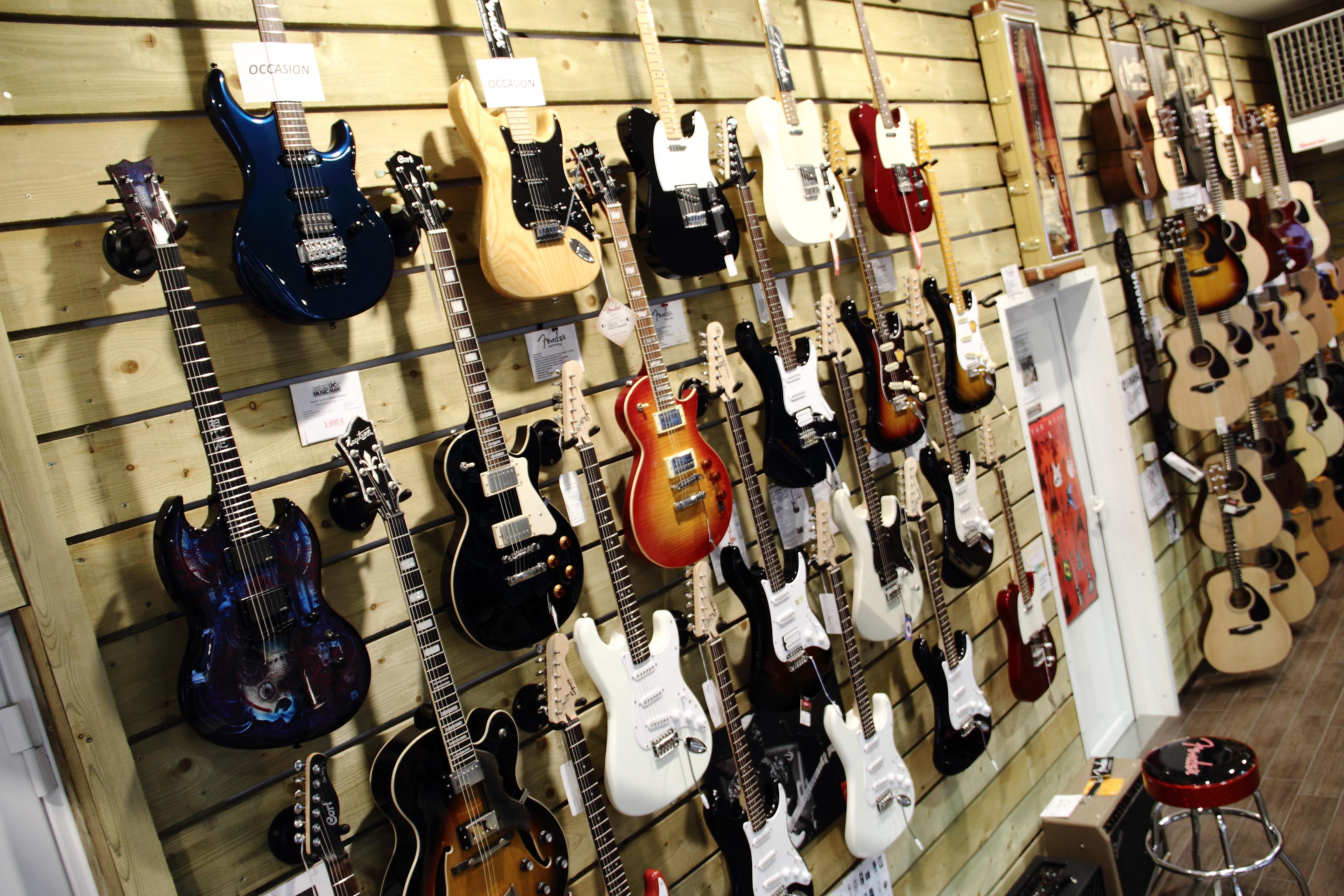 Mur Guitares