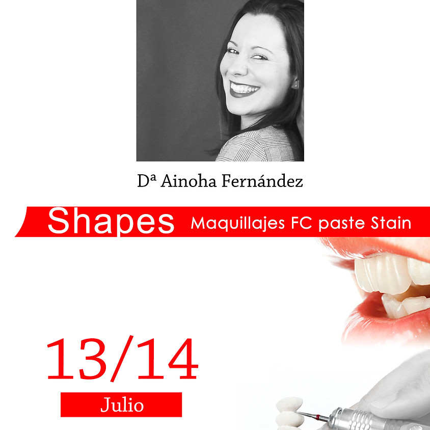 Shapes Maquillajes FC paste Stain