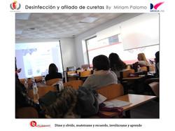 Alumnos Instituto higiene Cáceres