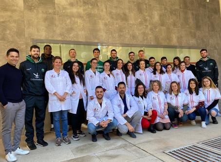 Cáceres Ciudad del Baloncesto en el Instituto de Formación Profesional tecnologías dentales Fones