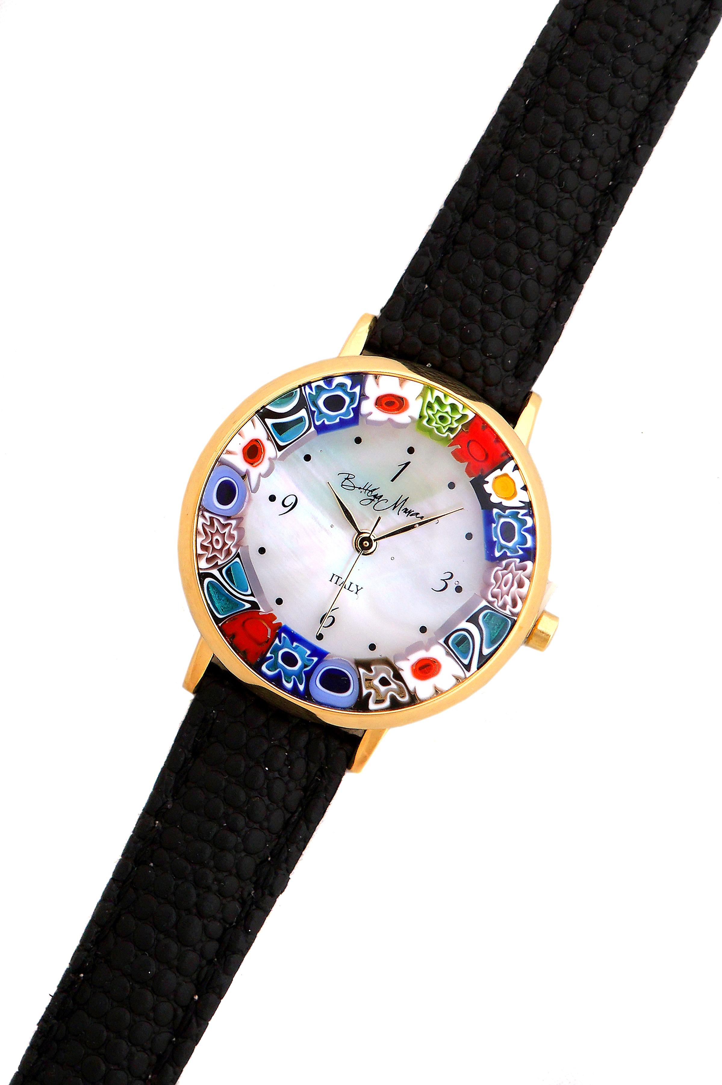 Муранское стекло: часы наручные, купить наручные часы из