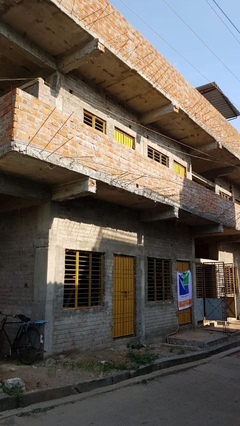 Schule für die Straßenkinder in Indien