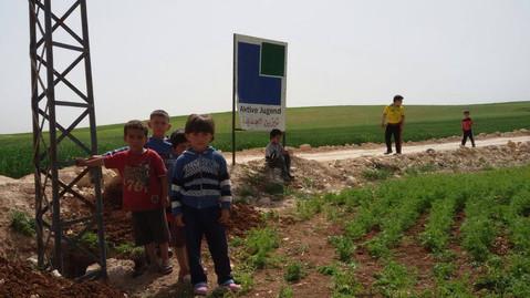 """Siedlung nach unseren Namen """"Aktive Jugend"""" benannt."""