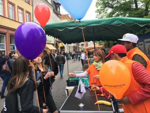 Infostand Heidelberg