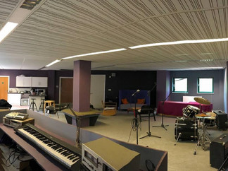 Team Loughton fit flooring in Music Studio for Under Privileged Children