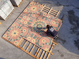 Customized Cement Tile Flooring