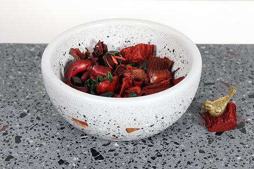 Terrazzo Gray Bowl