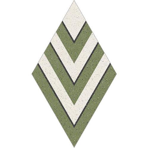 Rhombus Cement Tile 30-06