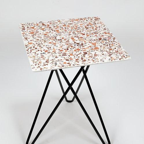 Terrazzo Coffee Table 40x40-002