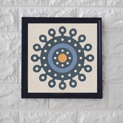 White Symbol Cement Tiles