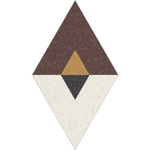 Rhombus Cement Tile 30-03