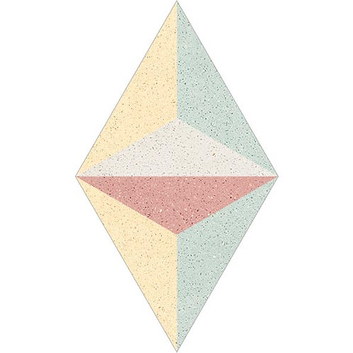 Rhombus Cement Tile 30-04