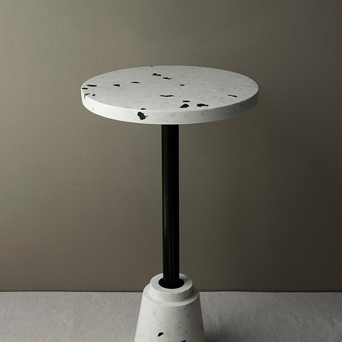 Conic White & Black Coffee Table