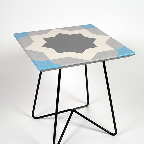 Terrazzo Coffee Table 40x40-009