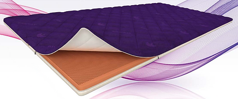 """The Quantum Energy Pad is composed of Bio Clay memory foam and is manufactured with micro fiber, the extremely fine fiber that is light and warm as a feather. Manufactured with Richway & Fuji Bio's """"warp knitting technology"""", the Quantum Energy Pad provides the user with a comfortable and healthy night's sleep. Use the Quantum Energy Pad and wake up refreshed in the morning!"""