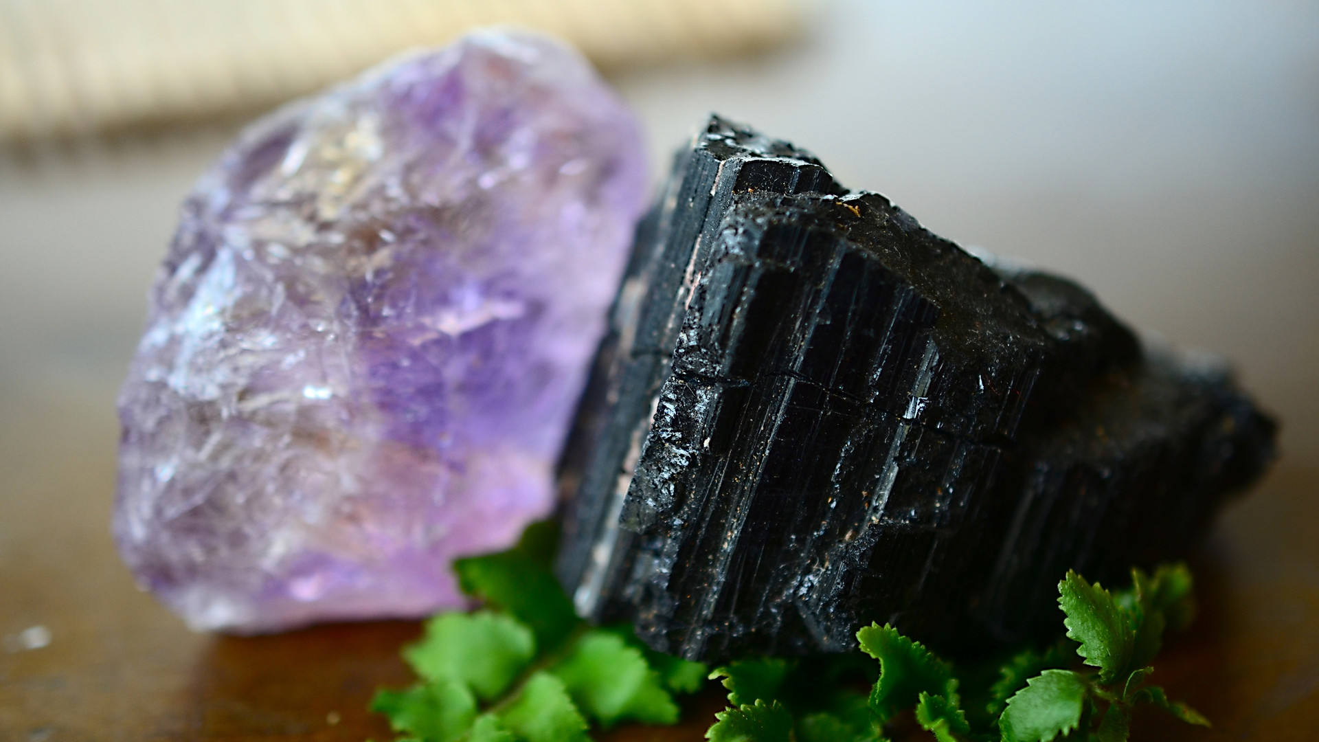 High Tech Amethyst And Tourmaline Used In the Richway BioMat