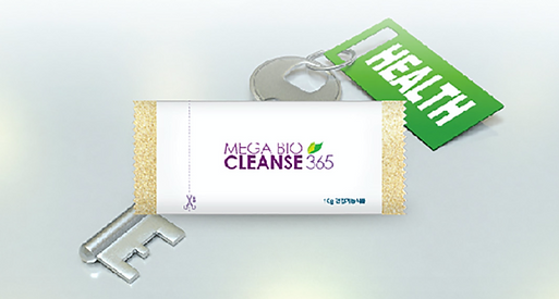 Mega BioCleanse 365     For a healthy digestive system and balanced body. Nutrients for the modern lifestyle and optimal gut health. Feel lighter, fresher and full of life with Mega Bio Cleanse 365.