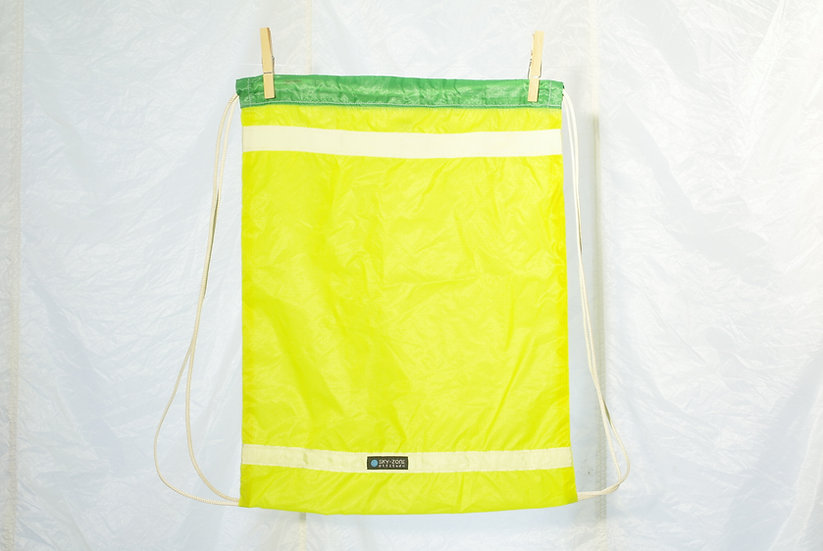 La voile à Maurice - Jym jaune vert blanc