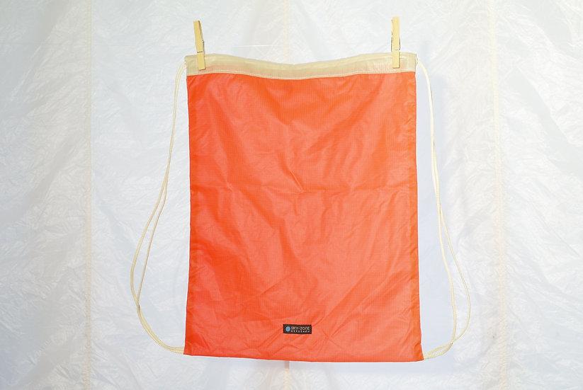 La voile à Maurice - Jym orange beige