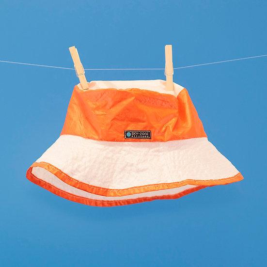 Le Chapô - orange blanc - L