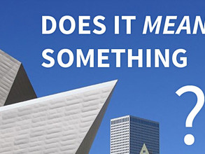 What Inspires Meaningful Architecture?