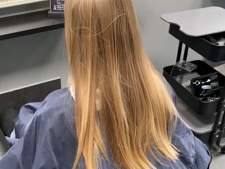 Blogginlägg av Hair By Angels. Nr 7.