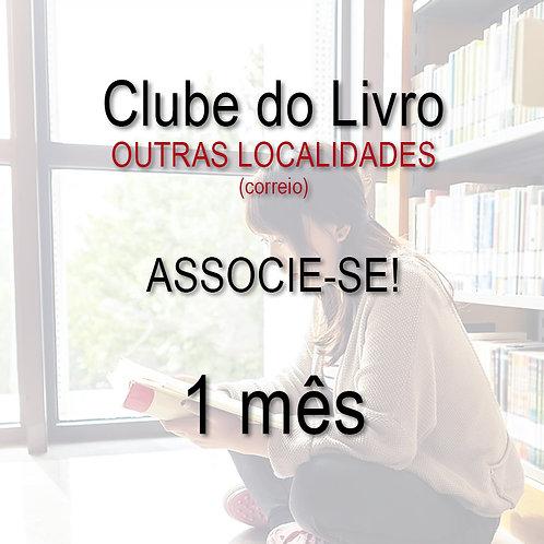 Clube do Livro - 1 mês - OUTRAS LOCALIDADES