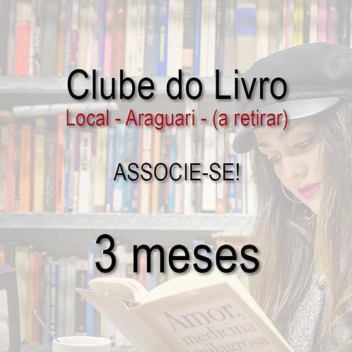Clube do Livro - 3 meses - Local a retirar