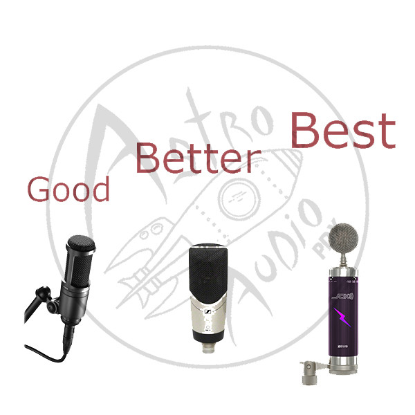 tthree great mics I recommend for great recording