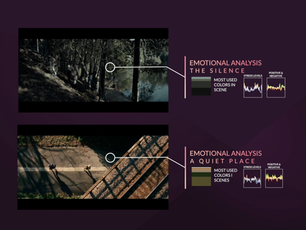 A Quiet Place VS The Silence - Download the Emotional Data Analysis
