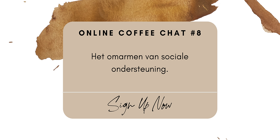 Online Coffee Chat #8
