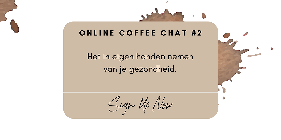 Online Coffee Chat #2
