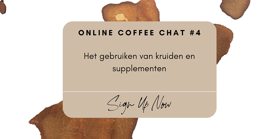 Online Coffee Chat #4