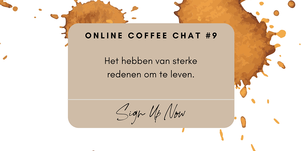Online Coffee Chat #9