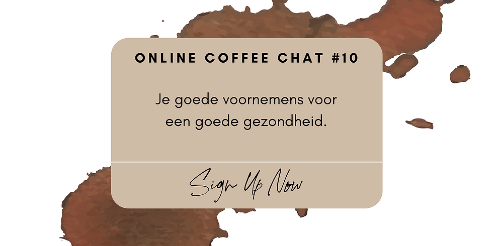 Online Coffee Chat #10